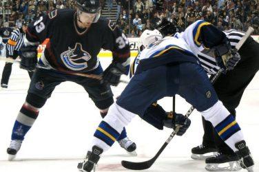 ice hockey canucks